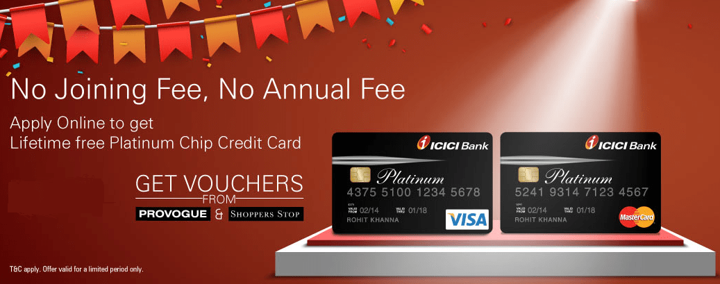 ICICI Platinum Chip Credit Card | Features & Benefits | Review 2017
