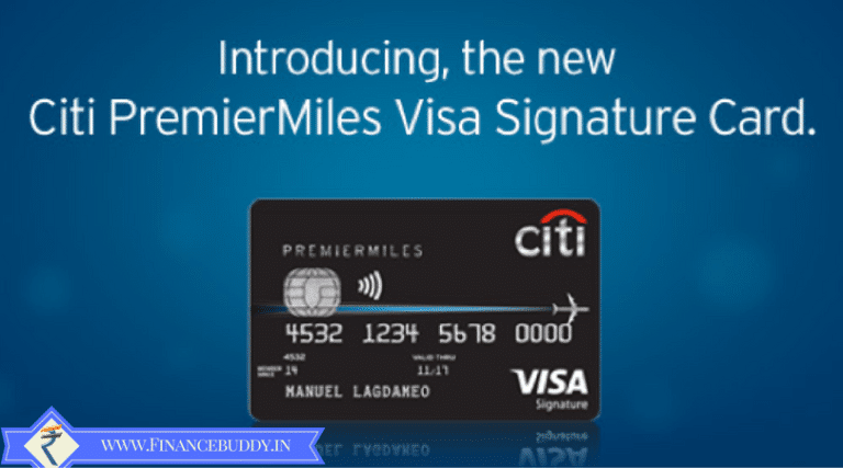 CITIBank PremierMiles Credit Card Review 2019