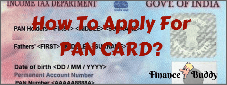 Apply For Pan Card Online
