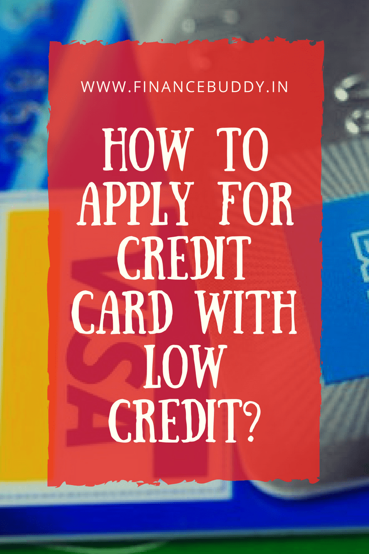 credit card with low credit