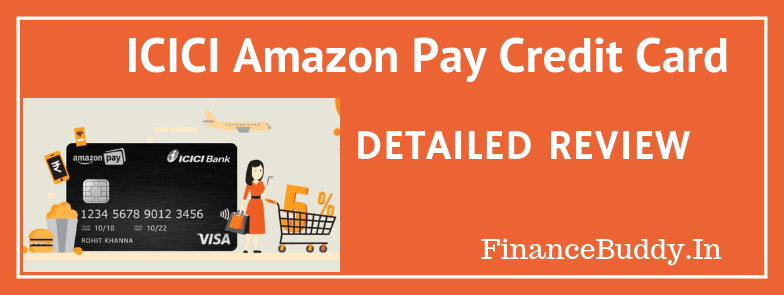 ICICI Bank Amazon Pay Credit Card – 5% Cashback On Every Shopping